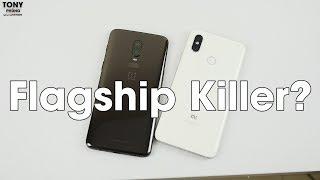 Xiaomi Mi 8 vs OnePlus 6 - Mi 8 mới là Flagship Killer