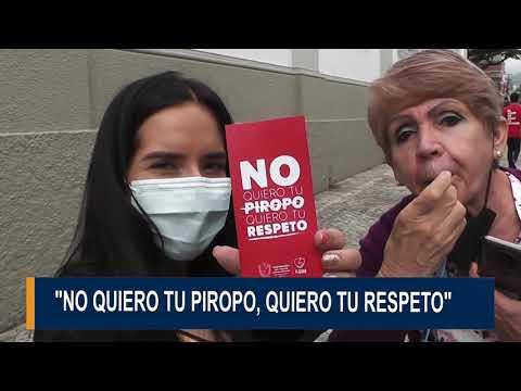 Con tarjeta roja La red de mujeres del Tolima enfrenta  el acoso callejero a las mujeres