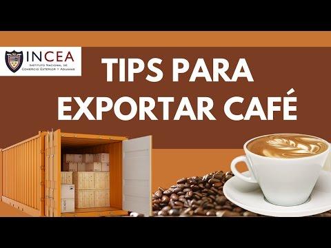 Tips para Exportar Café