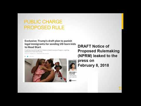 2018 04 17 13 01 Public Charge, DACA & Other Immigrant Rights' Issues