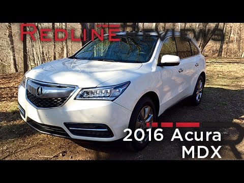 2016 Acura MDX – Redline: Review