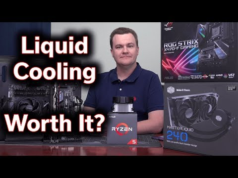 Liquid Cooling the Ryzen 5 2600X - Is It Worth It?
