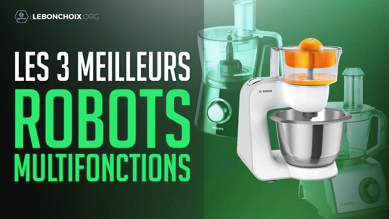 top 3 meilleur robot multifonction 2020 comparatif test