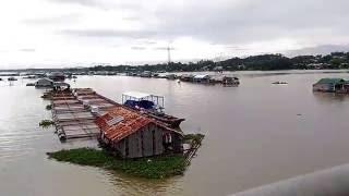 Cảnh đẹp làng cá bè cầu La Ngà song Dong Nai