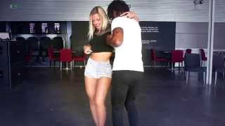 KIZOMBA TOP MOVES AND STEPS- By Lisa & Mandela(OFFICIAL VIDEO) Don Kikas - EM CHAMAS