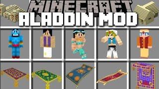 Minecraft ALADDIN MOD / FLY AROUND WITH MAGIC CARPETS AND BECOME ALADDIN!! Minecraft