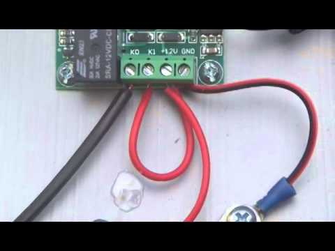 dc 12v digital temperature controller switch demo doovi. Black Bedroom Furniture Sets. Home Design Ideas