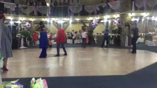 Свадьба Мурата и Айтолкын. Танец друга жениха. Вот как нужно танцевать)))))