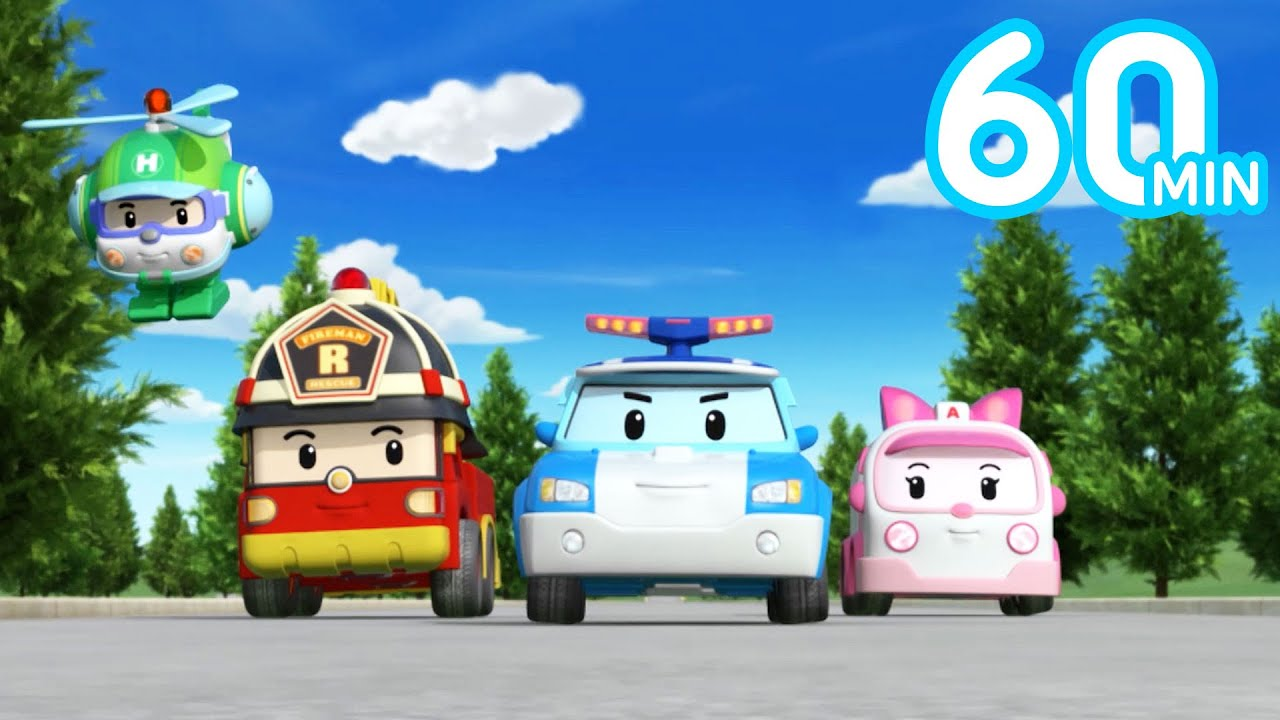 Robocar POLI Vehicle Nursery Rhymes Vol.1 | 20 Songs | Songs for Kids | Robocar POLI-Nursery Rhymes