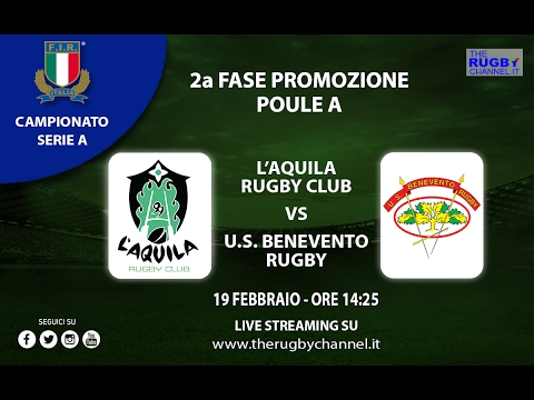 L'Aquila Rugby vs U.S Benevento Rugby