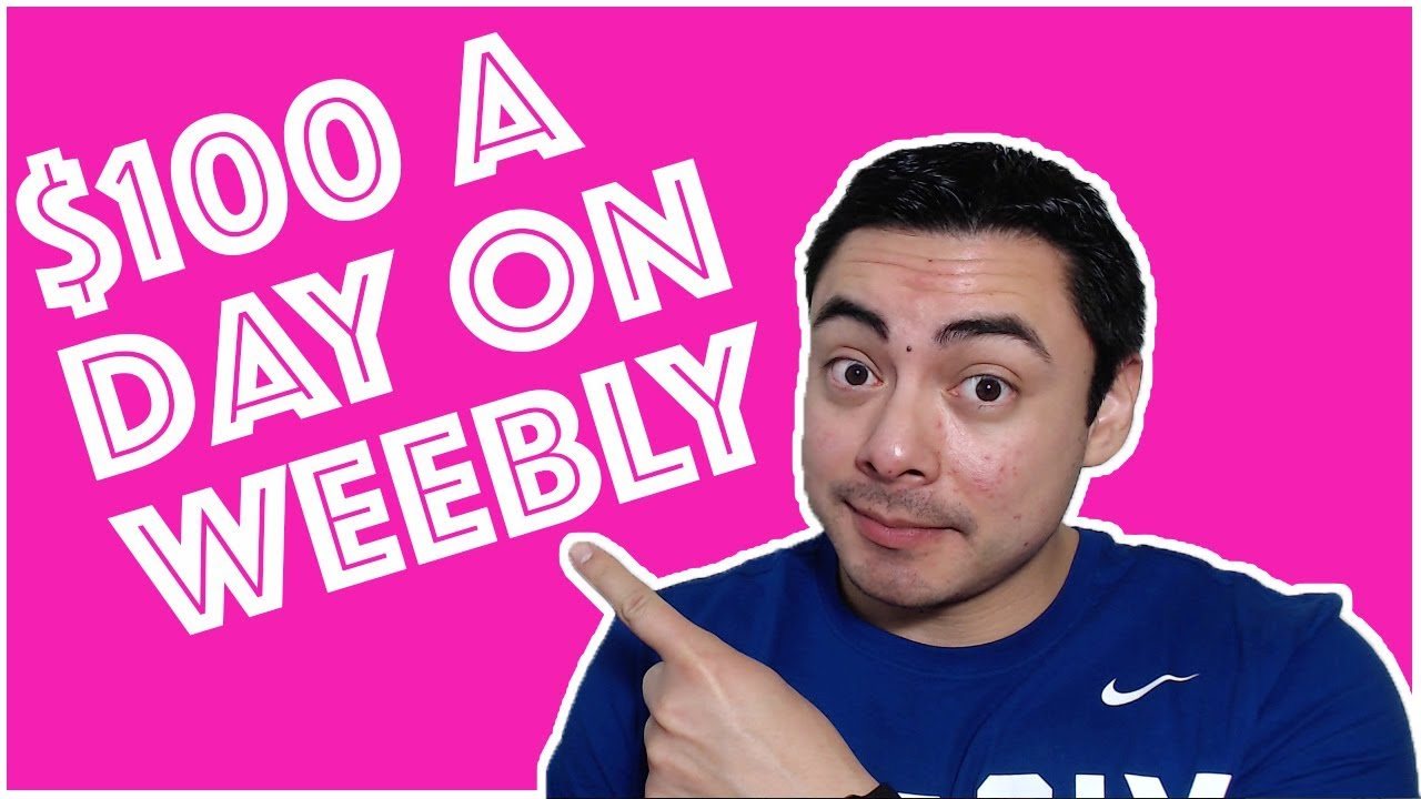 Make Money Online With FREE Weebly Websites (Easy $100/Day Method)