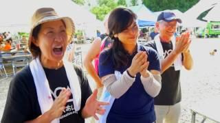 説明 毎年開催される福島県奥会津の金山での様子。