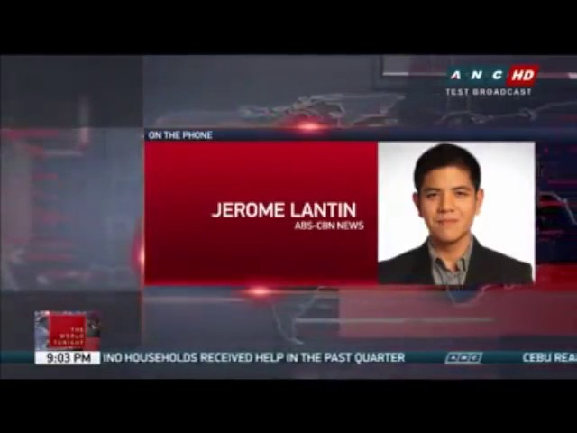 Jerome Lantin Liar reporter of ABSCBN, Caught on Tape! Facebook Viral Video