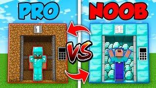 Minecraft NOOB vs. PRO : SWAPPED ELEVATOR CHALLENGE in Minecraft (Compilation)