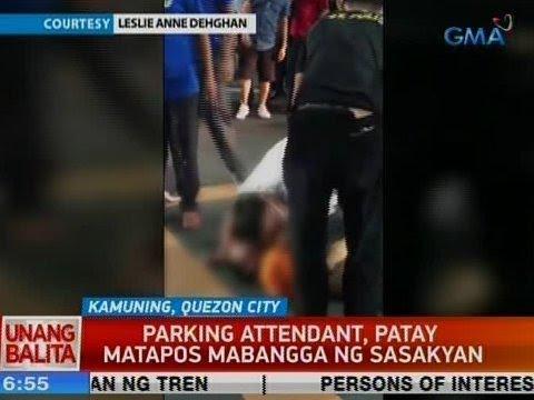 UB: Parking attendant, patay matapos mabangga ng sasakyan sa Tomas Morato, QC