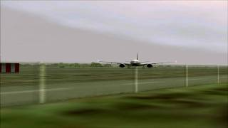 Continental 777-200 Takeoff From Seattle Tacoma Airport