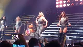 Fifth Harmony Deliver PSA TOUR CHILE