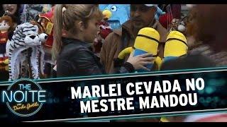 The Noite 13/08/14 - Mestre Mandou com Marlei Cevada