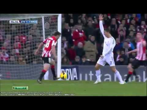 Cristiano Ronaldo ( Red Card ) Fight with Ander Iturraspe ~Athletic Bilbao vs Real Madrid HD