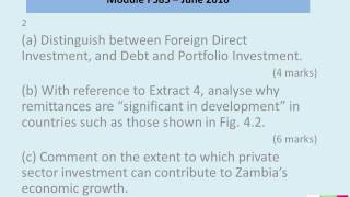 Mock Paper for OCR's A2 Global Economy Module F585 – June 2016