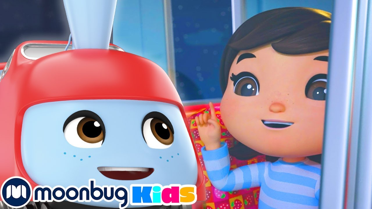 Wheels On The Train - Lullaby   Little Baby Bum   Kids Songs   Bedtime Songs and Stories