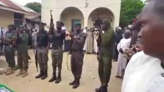 Worst Burial Parade Ever As Nigerian Police mourn and Pay Last Respect to Colleague