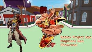 Roblox Project Jojo Magicians Red Showcase!