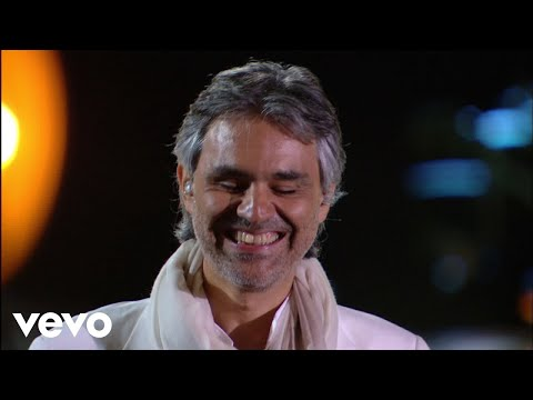 Andrea Bocelli  Because We Believe   From Studio Ferrante Aporti, Italy  2007