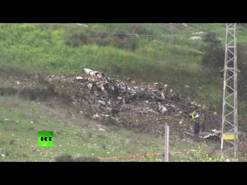 Israeli F-16 fighter jet shot down by Syrian anti-aircraft fire