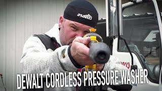 DeWalt Cordless Pressure Washe…