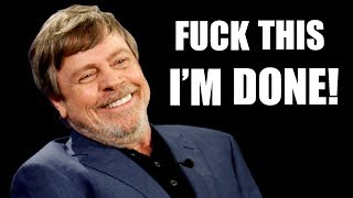MARK HAMILL'S COMPLETELY OVER IT! DROPS SPOILERS FOR EPISODE IX!