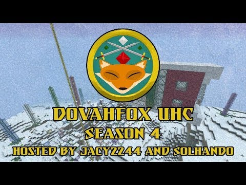 DovahFox UHC S4 E3 Where'd He Come From?