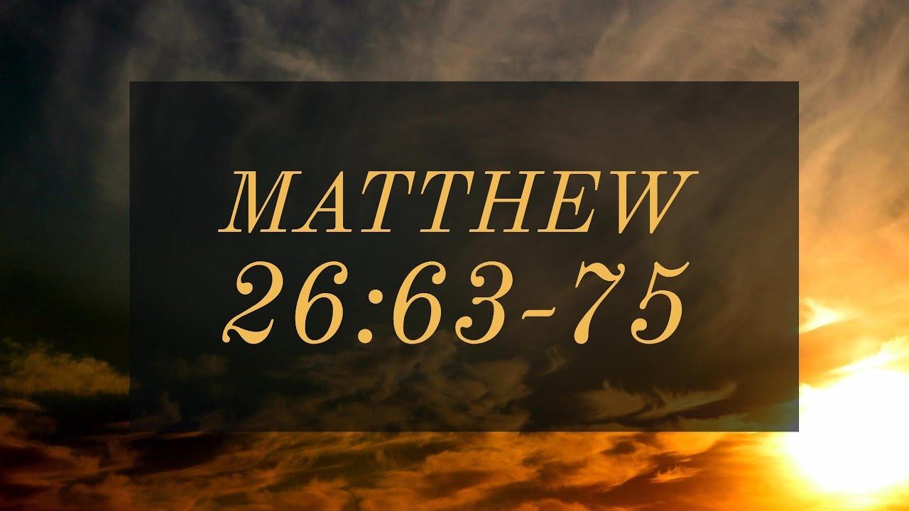 Download Matthew 26:63-75