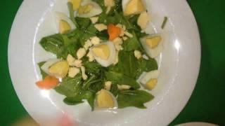 Весенний щавелевый салат * Spring sorrel salad