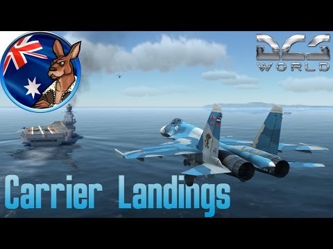 DCS World: Carrier Landings (SU-33)