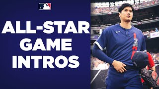All-Star Game Intros! Watch the 2021 AL and NL All-Stars get introduced at Coors Field!
