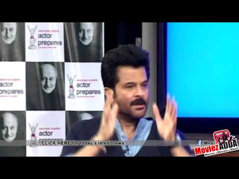 Master Class By Anil Kapoor @ Anupam Kher's Actor Prepares
