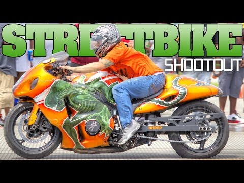 Street Bike Shootout 2016, Anderson Airport, Indiana