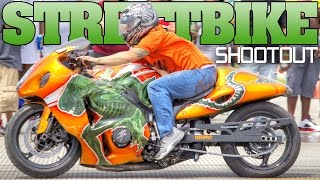 Street Bike Shootout 2016, Anderson Airport motorcycle racing, Indiana