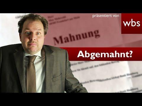 Abmahnung - Filesharing - Urheberrechtsverletzung - Tipps der Kanzlei Wilde Beuger & Solmecke Köln