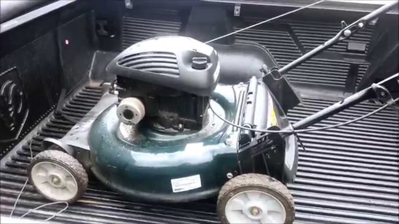 Another Free Craigslist Lawn Mower! - YouTube