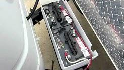 6 Volt Golf Cart Battery Installation on RV