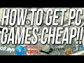 How To Get PC Games Cheap (Get PC Games For Up To 95% Off!!)