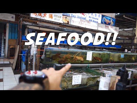 SABAH TOUR : DAY 1 SEAFOOD IN KOTA KINABALU! | SHAWN LEE