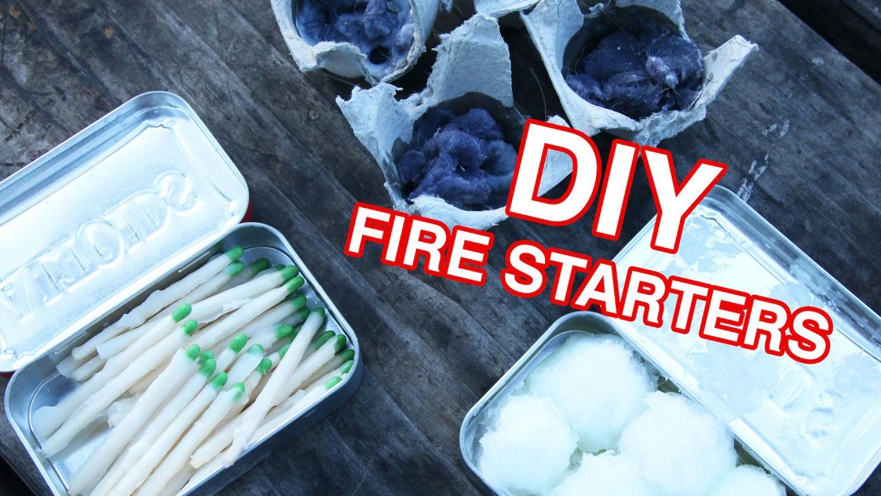 Easy Diy Fire Starter Youtube
