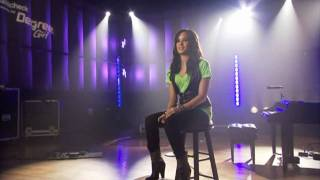 Demi Lovato-Interview-Walmart Soundcheck
