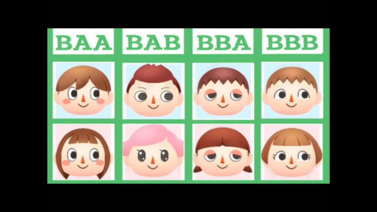 Animal Crossing City Folk Hair
