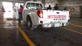 Mvpi / Fahas /Motor vehicle periodic inspection saudi arabia / Fitness checking Mitsubishi L200 2015