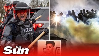 Minneapolis riots - fatal police shooting of a black man miles from where floyd was killed unrest