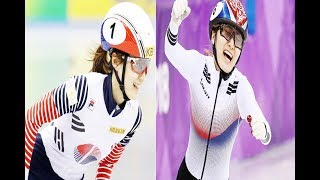 Choi Min jeong wins gold in 1500m short track skate, Winter Olympic 2018